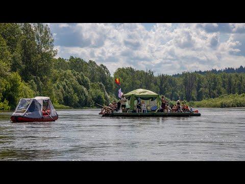 TRAVEL123. Сплав по реке Уфа. Июнь 2020