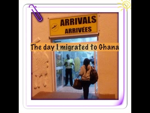 The day I migrated to Ghana