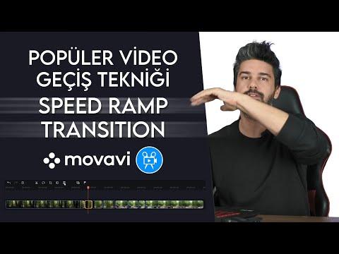 En Popüler Video Geçiş Tekniği SPEED RAMP | Movavi Tutorial