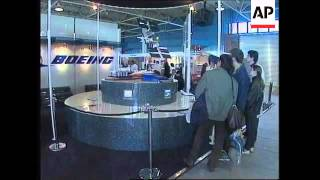 RUSSIA: MOSCOW: INTERNATIONAL AEROSPACE SHOW OPENS