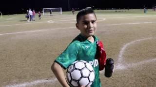 Damian's Soccer Match (Spidey's vs. Red Bulls)
