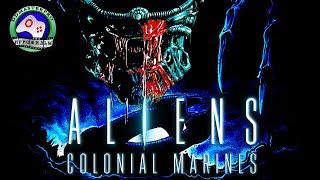 Чужие Колониальные морпехи Aliens Colonial Marines Игрофильм прохождение без комментариев фантастика