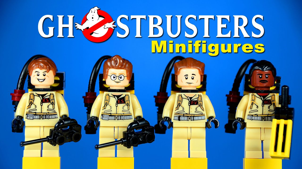 Lego Ghostbusters Peter Venkman Ray Stantz Egon Spengler