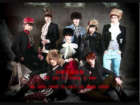 [ENG SUB+LYRICS+ROM] Super Junior-M Destiny 命運線/命运线