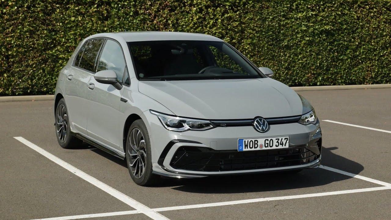 Volkswagen Golf 8 Etsi Hybrid 2020 First Look Exterior Interior Driving R Line Vs Style Youtube
