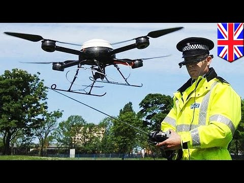 Police drones: British cops launch 24-hour drone flying squad in Devon and Cornwall - TomoNews
