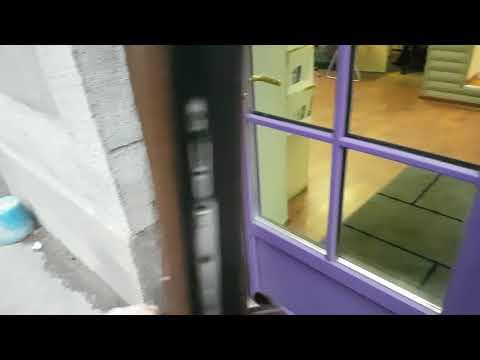 Правая или левая дверь при открывании НАРУЖУ?