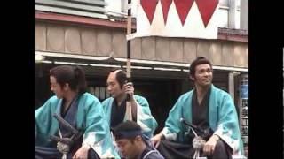 福島県会津若松市で行われた、毎年恒例の会津藩公行列です。この年はNHK...