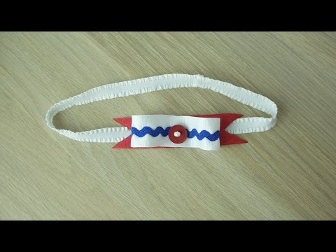 Make a Pretty Nautical Headband – DIY Style – Guidecentral