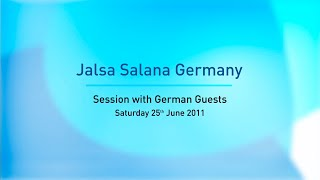 Huzoor's Address To German Guests - Jalsa Germany 2011