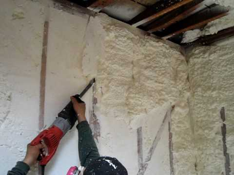 Spray Foam Insulation In Older Homes Part 2 3 Youtube