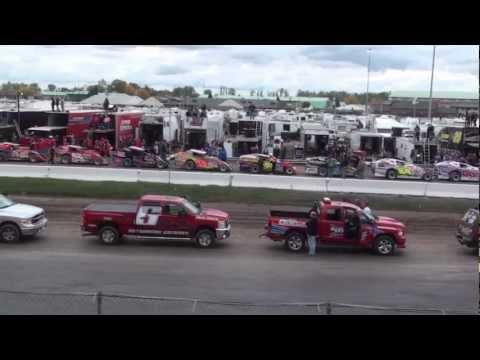 Super Dirt Week 41 Syracuse New York State Fairgrounds Canadian & USA National Anthems