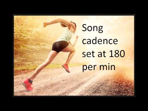 Run to 180 - music set at a tempo of 180 steps per minute