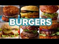 أغنية 6 Mouth-Watering Burger Recipes