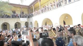 الجيش العراقي ... معزوفه منصوره يا بغداد (الجوق الموسيقي)