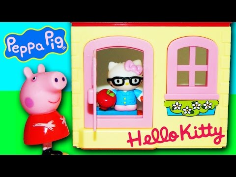 HELLO KITTY EGGS & PEPPA PIG VS. MY LITTLE PONY, DISNEY FROZEN by supercool4kids