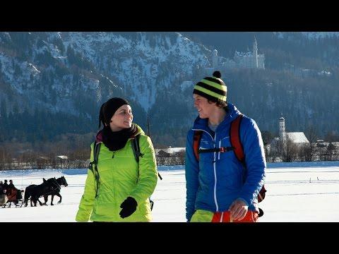 Winterwandern in Schwangau im Allgäu