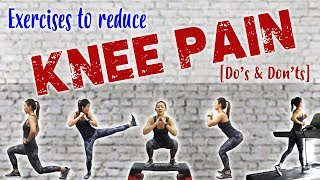 Best & Worst Exercises for Bad Knees (Dos & Don'ts) | Joanna Soh