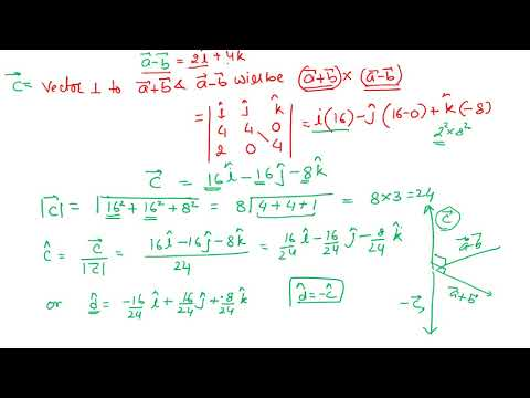 Vectors Exercise 10.4 (Q. 01-06)