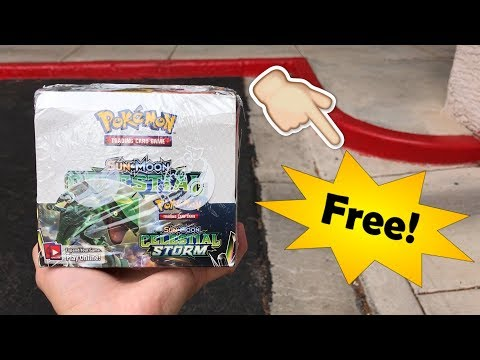 HOW TO GET A POKEMON CARD BOOSTER BOX FOR FREE! *works Everytime*