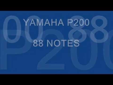 Le test du YAMAHA P200