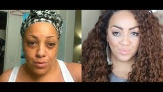 Before & After Hair and Makeup Transformation - Please Like & Subscribe Kimbella MD