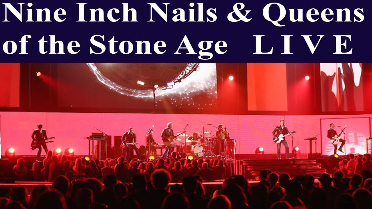 Nine Inch Nails & Queens of the Stone Age LIVE 2014 - YouTube