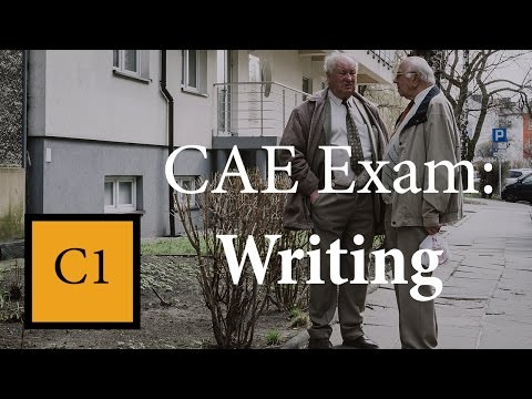Writing for CAE