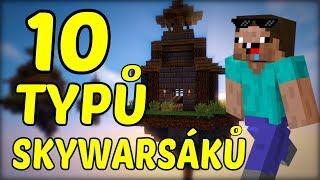 10 Typů Hráčů Skywars !