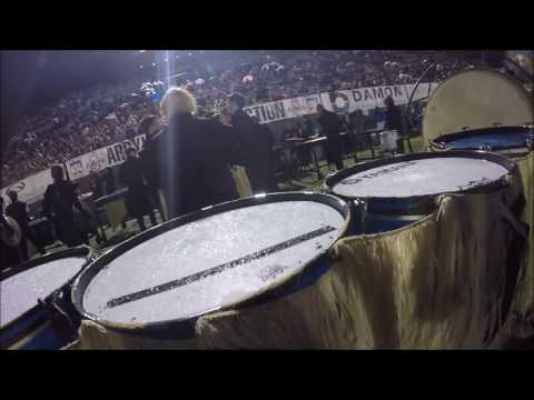 "Mt. Spokane high school 2016 Drumline compilation video ""Ancient Voices"""