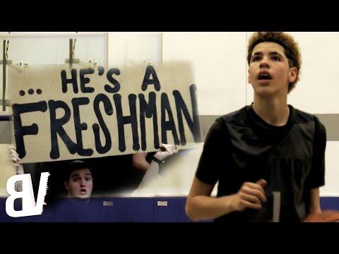 LaMelo Ball OFFICIAL Freshman Year Mixtape | 14 Year Old BEAST