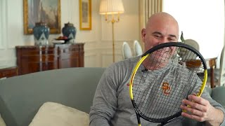 Andre Agassi Reviews the 25th Anniversary Radical LTD Edition Racquet