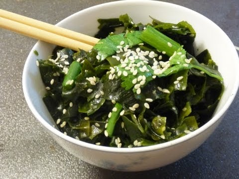 wakame seaweed salad recipe video 6 out of 31 youtube