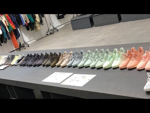 Kanye West Shares a Ton of Never-Before-Seen YEEZY Sneakers