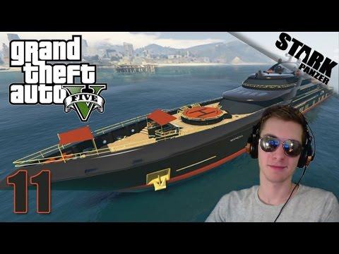 GTA 5 - 11.rész (Yacht / új update!)  - Stark