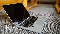 Korjataan MacBook: näppäimistön puhdistus