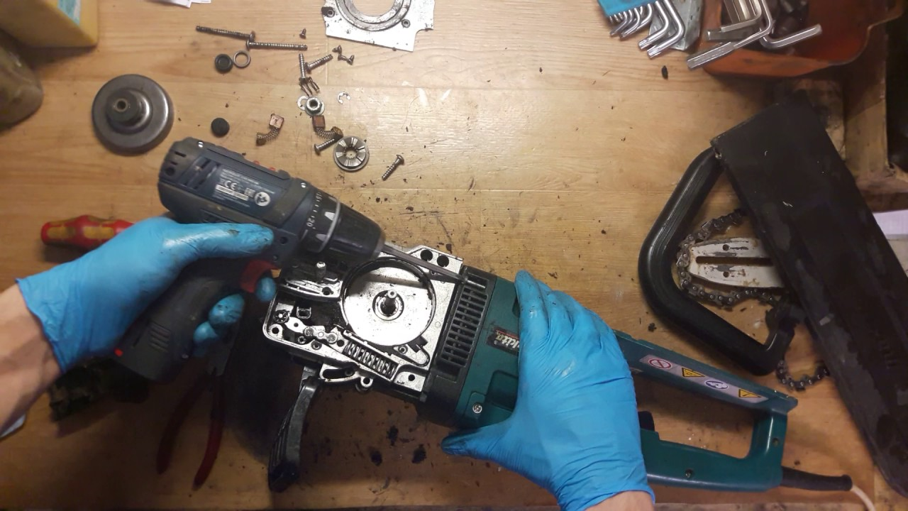How To Repair And Assemble Makita Uc3503a Chain Saw Oil