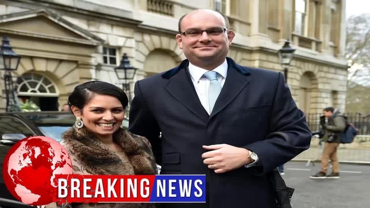 Who is Alex Sawyer? Priti Patel's husband and marketing ...