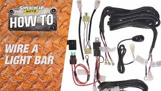 How to - Wire a LED Light Bar // Supercheap Auto
