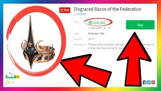 R$200,000+ ROBUX FOR A HAT!?! OR 2,000+ DOLLARS!! WTF!!! (Roblox)