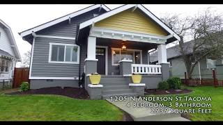 Home Tour 1205 N Anderson Tacoma