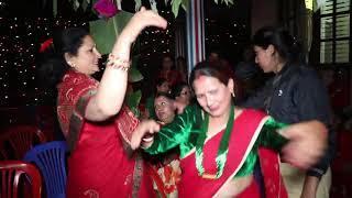 बाफ रे बाफ! बाजा बज्न थालेपिछ खतरा नाच Panche baja Pramod Neupane Wedding