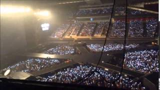 140823 EXO The Lost Planet in Singapore - EXO L singing Run