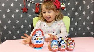 Novogodisnje VELIKO KINDER JAJE Otvaranje Igracke iz Kinder Jaja / KINDER MAXI Surprise Egg New Year