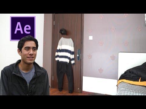 """【AE教程】AE制作Zach King视频中穿""""墙""""而过的教程"""