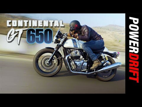 Royal Enfield Continental GT 650 : Dodge this! : PowerDrift