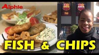 Alphie Cuisine - FISH & CHIPS