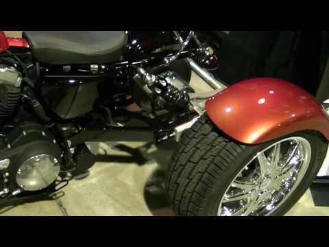 Champion Trikes Motorcycle Tricycle Conversion On A Harley Davidson Sportster