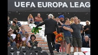 Chelsea fans given free packets of crisps by chairman ahead of Europa League clash