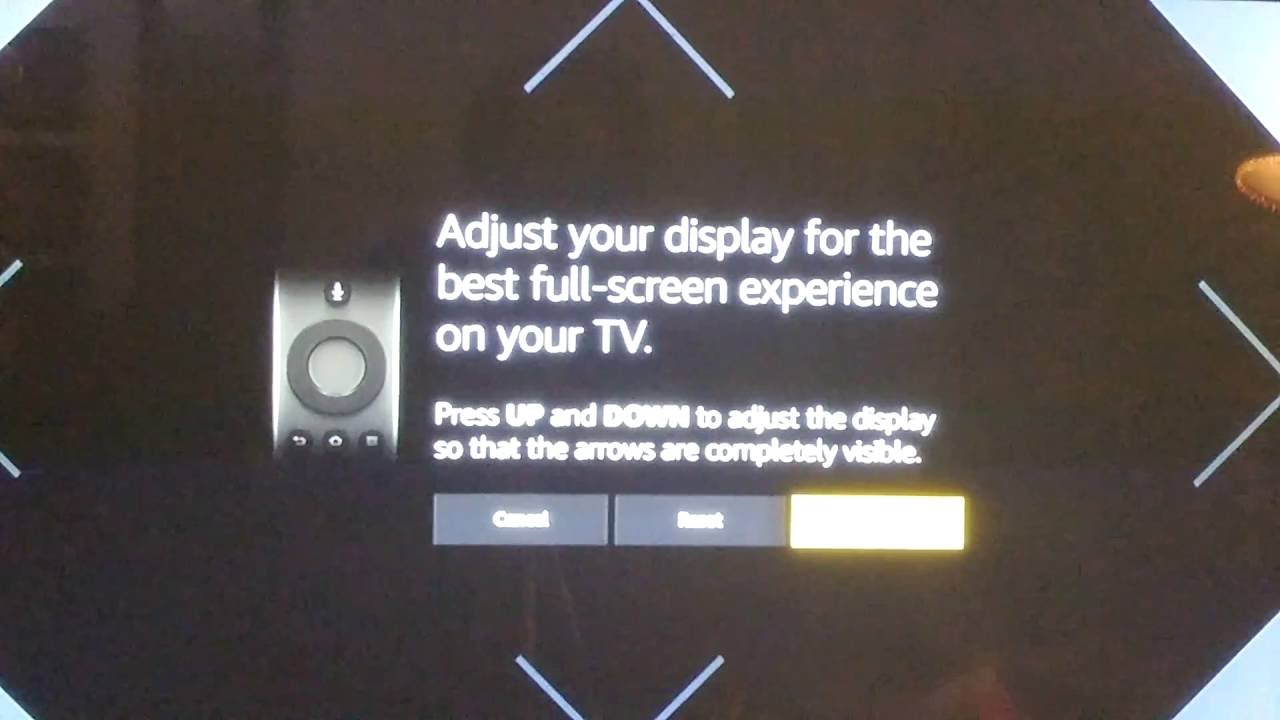 How To Adjust Your Display Screen On Your Amazon Fire Tv Stick